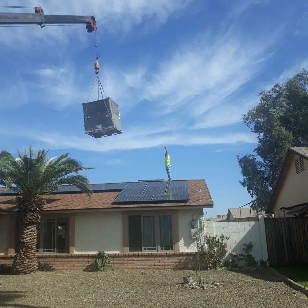 Jamrac Mechanical HVAC installation in Phoenix